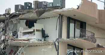 """Fifty-one people missing after flat block collapses """"like pancake"""" in Miami"""