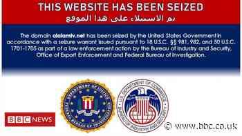 US government blocks Iran-affiliated news websites
