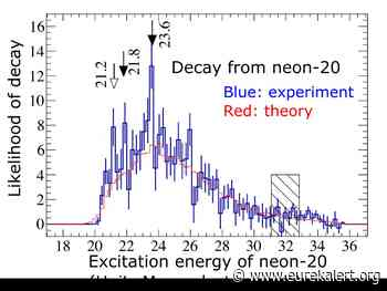 The fifth quartet: Excited neon discovery could reveal star qualities