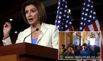 Pelosi formally announces a select committee to investigate the Capitol riot