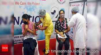 Coronavirus in India live updates: Over 54.07 lakh vaccine doses administered today, says Union health ministry - Times of India