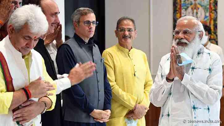 Want to remove `Dilli ki duri` as well as `Dil ki duri`: PM Narendra Modi to Jammu and Kashmir leaders