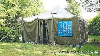 Ausstellung in Sulz am Eck - Zelt der Begegnung - Schwarzwälder Bote