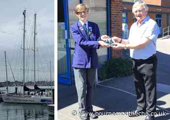 Sailor overcomes brain injury to achieve RYA Competent Crew - Bournemouth Echo