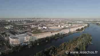 Hauts-de-Seine : à Gennevilliers, un immense entrepôt pour encourager le transport fluvial - Les Échos