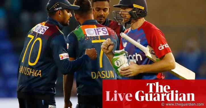 England v Sri Lanka: second T20 – live!