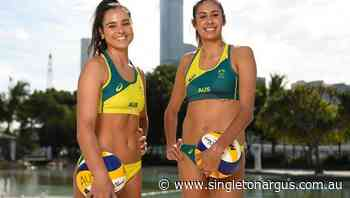 Beach volleyball pair primed for Tokyo bid - The Singleton Argus