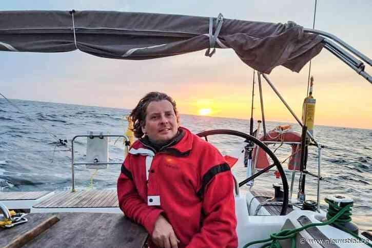 """Schipper uit Bouwel moet zeiljacht op zee achterlaten door binnenstromend water: """"We stapten over naar een vrachtschip"""""""