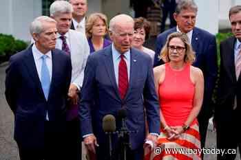 'We have deal': Biden, bipartisan senators on infrastructure