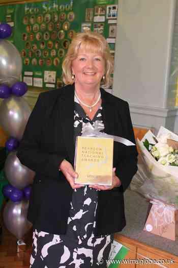Wirral headteacher Rosemary Littler given major award