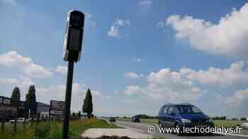 Annezin : un nouveau radar tourelle installé sur la D943 entre Lillers et Béthune - L'Écho de la Lys
