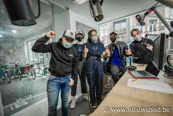 Jonge wolven maken radio om Mechels stadspersoneel te bedanken
