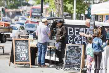 Catford food market returns after 19-month absence