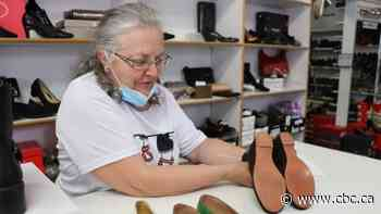 Before closing for good, Quebec City shoe store finds 'treasures' behind hidden door - CBC.ca