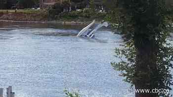 Quebec woman rescues pilot after his plane crashes into river - CBC.ca
