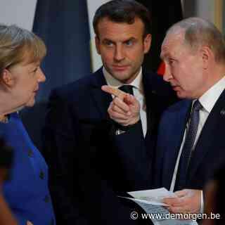 Frankrijk en Duitsland willen EU-top met Poetin, Oost-Europa fel tegen