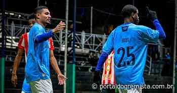 Grêmio FUT7 joga sem piedade e marca 19 gols no Estudiantes - Portal do Gremista