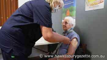COVID-19 Tasmania: Hobart's Jean Hutton, 105, gets her vaccination - Hawkesbury Gazette