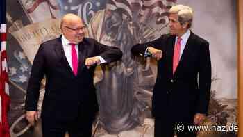 Als Erster in Washington: Altmaiers Delegation ist der Voraustrupp für Merkel
