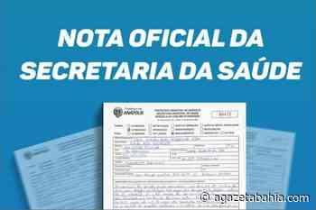 Nota da Secretária de Saúde de Porto Seguro desmente matérias sobre apreensão de caixas de remédio - aGazeta Bahia