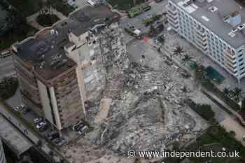 Miami building collapse: Shocking video shows Florida condo falling