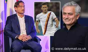 Francesco Totti claims Roma have hired the 'best coach in the coach in the world' in Jose Mourinho