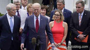 Biden says he's struck a bipartisan infrastructure deal