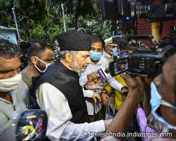 'Satisfactory meeting': Muzaffar Hussain Baig after all-party meet