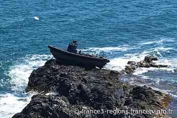 Port-Vendres : un bateau échoué sur les rochers du Cap Béar - France 3 Régions