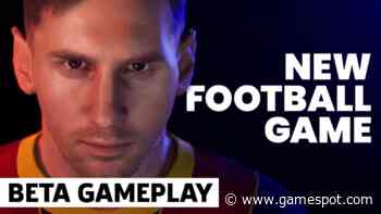 New Football Game (PES 2022)   Online Performance Test Gameplay