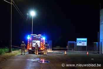 Brandweer opgeroepen voor lekkende CO2-tank bij slachthuis - Het Nieuwsblad