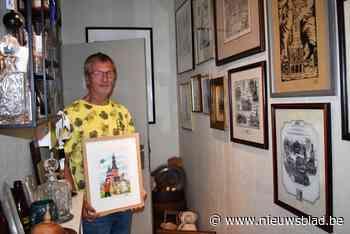 Hallentorens met Suske en Wiske of in Delfts porselein: deze Tieltenaar verzamelt àlles van zijn geliefde stad - Het Nieuwsblad