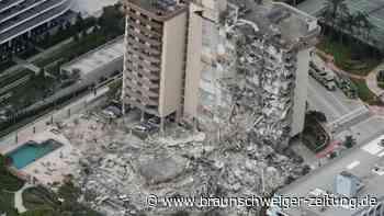 Wohnhaus nahe Miami Beach stürzt ein