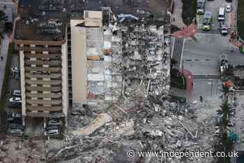 Miami building collapse: Police say 99 people still unaccounted for in Florida