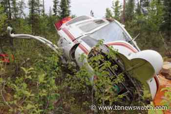Investigators release first photo from helicopter crash north of Nipigon - Tbnewswatch.com