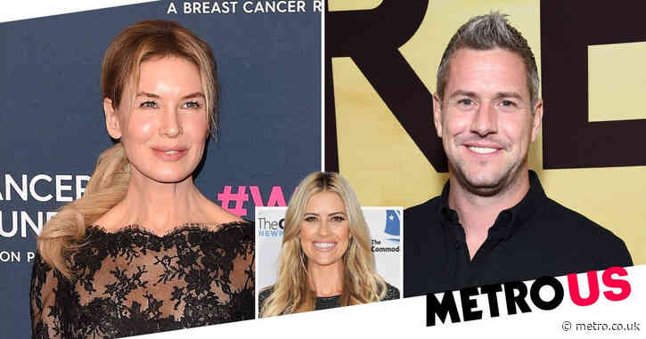 Renee Zellweger 'dating' Ant Anstead after host finalizes divorce from Christina Haack