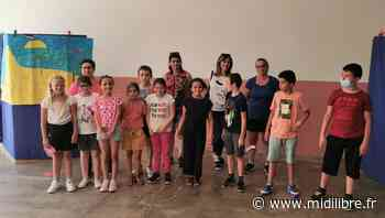 Les enfants Ulis ont joué devant le public avec assurance et bonheur - Midi Libre