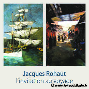 Essonne : découvrez la peinture de Jacques Rohaut à Etampes - Le Républicain de l'Essonne
