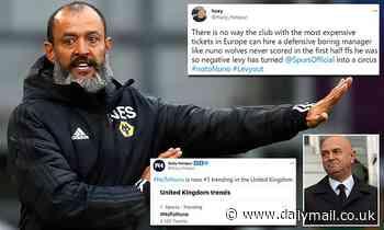 Tottenham fans left furious as the club identify Nuno Espirito Santo as their potential new manager