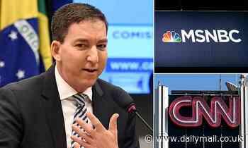 Journalist Glenn Greenwald slams MSNBC and CNN for 'dangerous' failure to investigate issues