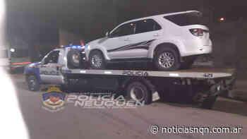 Alcoholemia positiva y secuestro vehicular en Cutral Co - Noticias NQN