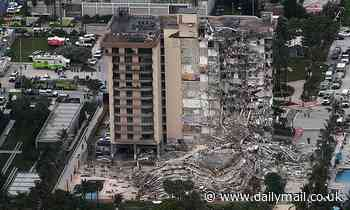 Collapsed Miami beach condo tower hadn't been certified since 1981 - when it was built