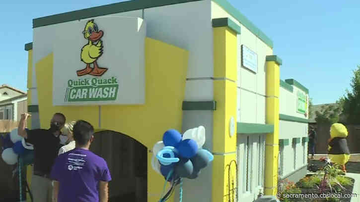 Roseville Boy, 12, With Severe Epilepsy Gets His Wish Of A Backyard Car Wash