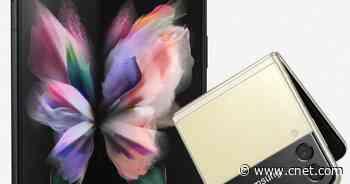 Samsung Galaxy Z Fold 3 and Z Flip 3 appear in new leak     - CNET