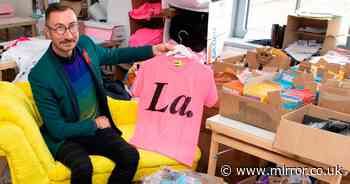 First openly HIV-positive mayor's It's A Sin charity 'La' T-shirt fights stigma