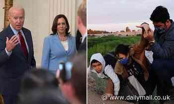 Biden insists Kamala has done a 'GREAT JOB' at the border 'so far' ahead of her trip tomorrow
