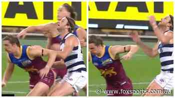'Should be more than a $1k fine': Lions star Joe Daniher under fire for 'academy award' staging incident