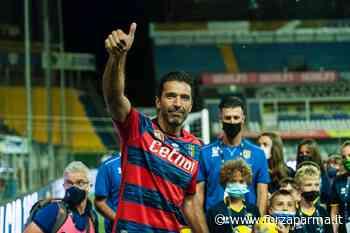 """Buffon: """"Una serata emozionante. Grazie Parma!"""" - Forza Parma"""