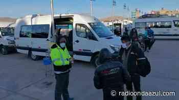 Empresas de transporte brindaron servicio en la ruta Juliaca – Ayaviri pese a paro de 48 horas - Radio Onda Azul