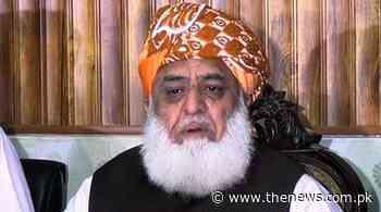 Maulana Fazlur Rehman survives coronavirus scare - The News International